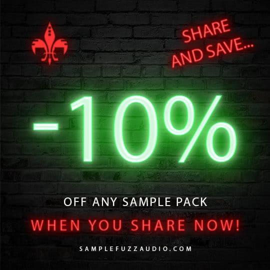sample fuzz audio 10% off